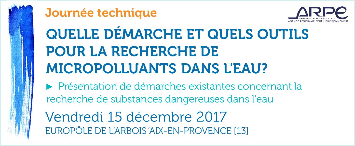 Journée END/ARPE micropolluants 15/12/2017