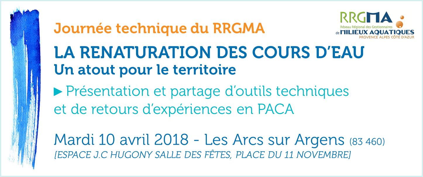 Journée RRGMA 10 avril 2018 Les Arcs