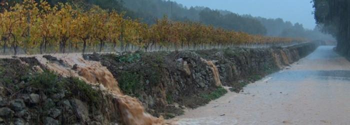 Inondation du 05 Novembre 2011 à Correns, dans le Var - Copyright : CG83
