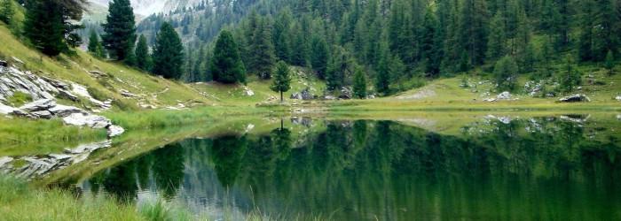 Le lac miroir ©ARPE PACA