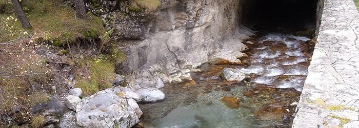 Canalisation de l'eau dans le Queyras ©D. Gataniou / ARPE