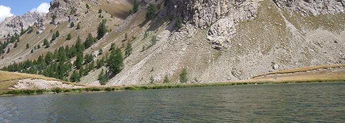 Le lac du Lauzet (05) ©D. Gataniou / ARPE PACA