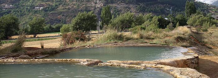 Les sources thermales du plan Phazy (05) ©D. Gataniou / ARPE