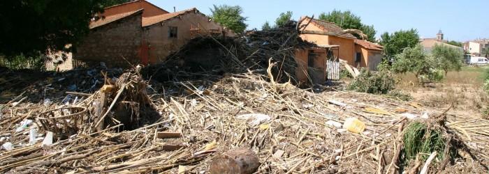 Conséquences de l'inondation de la Nartuby de juin 2010 - Copyright : ARPE