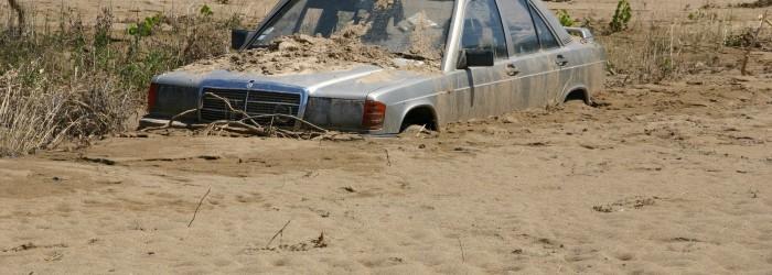 Conséquences de l'inondation par la Nartuby, Juin 2010 - Copyright : ARPE