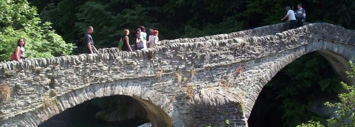 Aménagement d'un pont : Aoste - Copyright : ARPE PACA