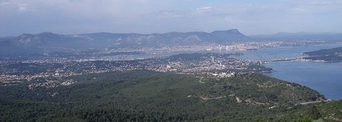 La grande baie de Toulon - 2012 Copyright : D.GATANIOU/ARPE
