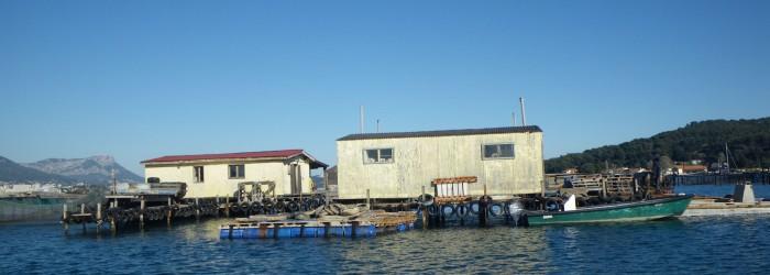 Cabane de pêcheurs, Toulon - Copyright : P. BOISSERY/Agence de l'Eau RMC