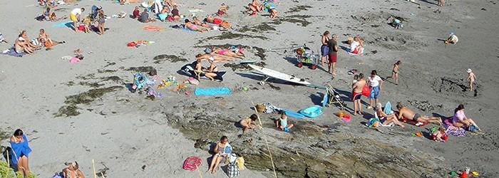Capacité des plages et tourisme estival en PACA - Copyright : ARPE PACA