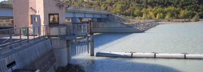 Barrage EDF Saint Sauver - Copyright : S. CHAPELET/Agence de l'Eau RMC
