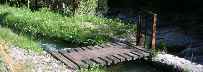 Irrigation canal du Fugeret - Copyright : A. MARQUE/Agence de l'Eau RMC