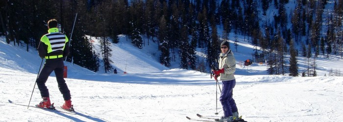 Pression touristique hivernale dans les stations de ski - Copyright : ARPE