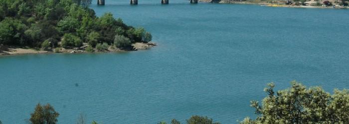 Barrage de Saint Cassien, 27 Avril 2007 - Copyright : GARUFI/Région PACA
